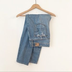 AMERICAN EAGLE | Oversized Boy Crop Jeans